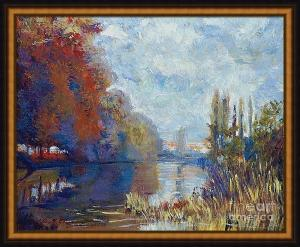 Argenteuil On The Seine - Sur Les Traces De Monet