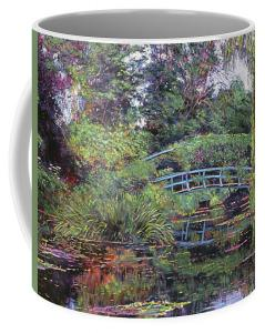 Drink from your Monet Garden mug