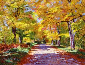 A New Painting Release - Vermont autumn scene