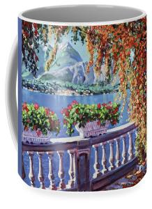 SUMMER AT LAKE COMO sells a mug