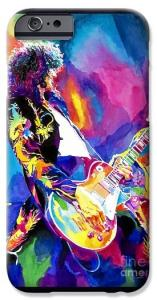 JIMMY PAGE on an iPhone Case