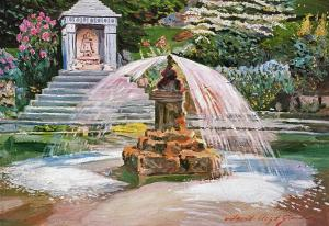 Spring Fountain And Pond sells