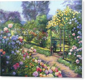 EVENING ROSE GARDEN sells again
