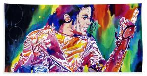 Michael Jackson Showstopper Beach Towels