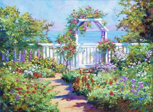 Hamptons Summer Garden