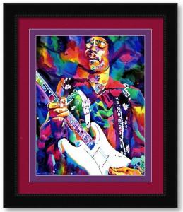 Jimi Hendrix Purple goes to Des Moines