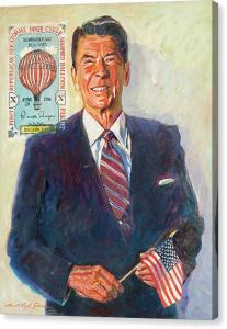 President Reagan Balloon Stamp