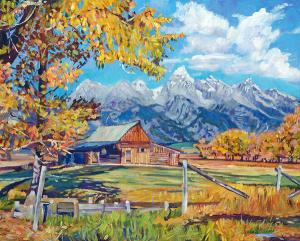 Moultons Barn Grand Tetons sells