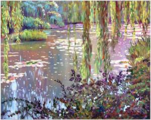 HOMAGE TO MONET - sells again