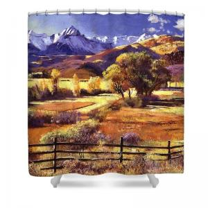 Shower Curtains in the Mountains