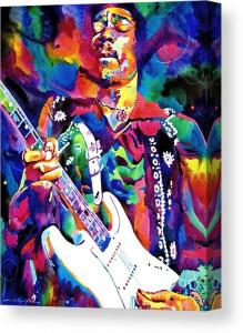 Jim Hendrix Purple sells on canvas
