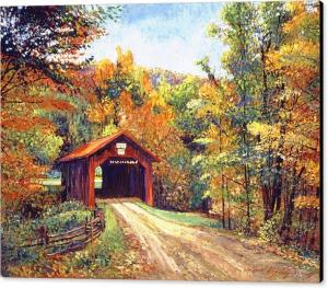 THE RED COVERED BRIDGE sells