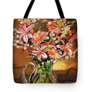 Art on Tote Bags