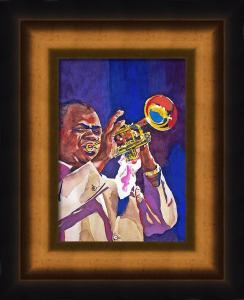 Louis Satchmo Armstrong sells