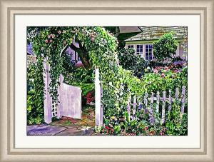 Charming Cottage Gate