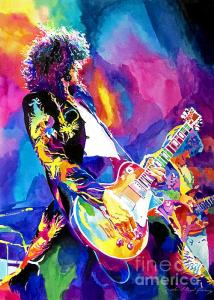Jimmy Page plays the Monolithic Riff
