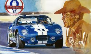 64 Cobra Daytona - Carroll Shelby