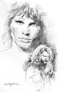 Jim Morrison Faces