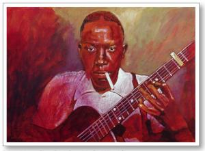 Robert Johnson Portrait Sells