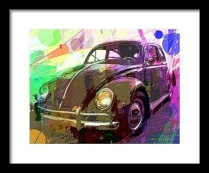Pop Art Vw Bug